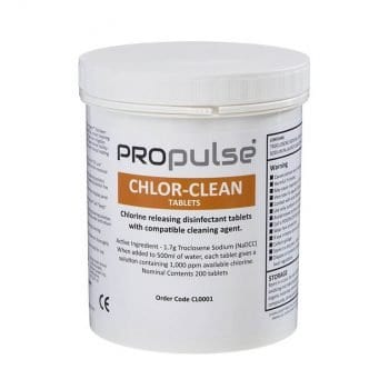Propulse Chlor-Clean Cleaning Tablets