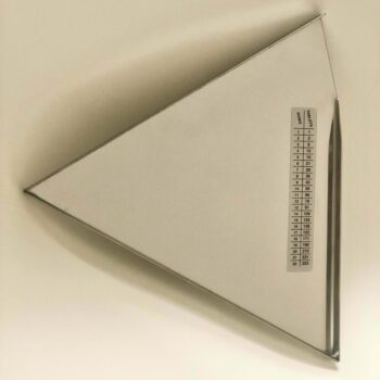 Tablet counting triangle