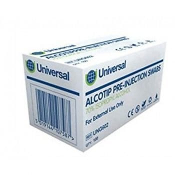 Alcotip Pre-Injection Swabs