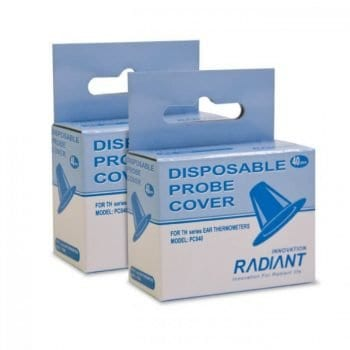 Radiant Tympanic Probe Covers