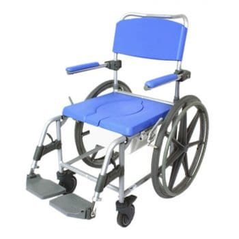 Self-Propelled Commode and Shower Chair