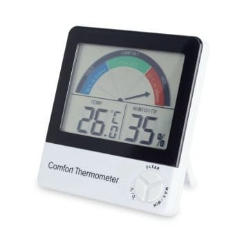 Comfort Level Indicator Thermometer