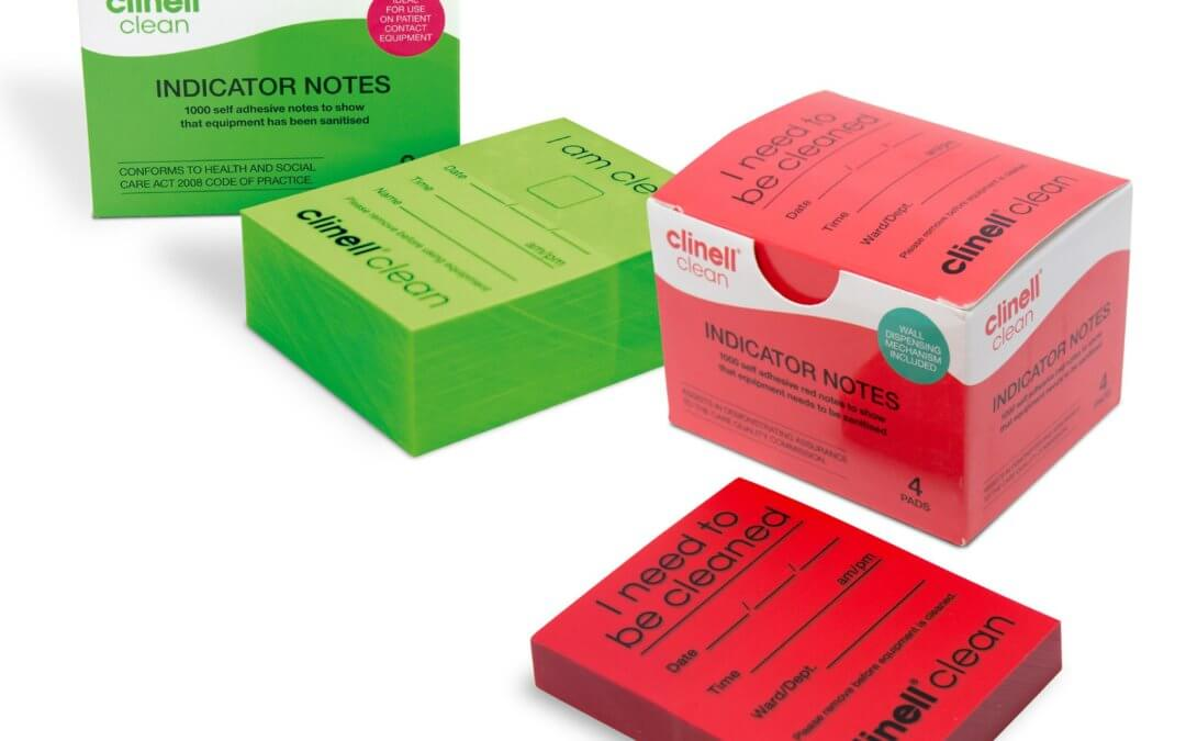 Clinell Cleaning Indicator Pads