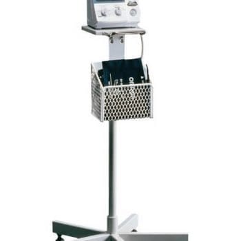Omron 907 Mobile Stand and Basket