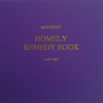 Homely Remedy Book