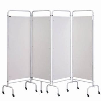 Mobile 4 Panel Folding Ward Screen