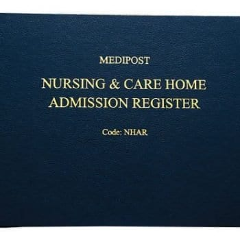 Nursing and Care Home Admission Register