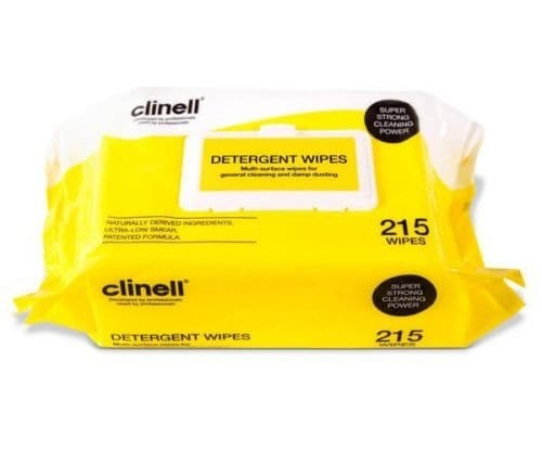 Clinell Detergent Wipes
