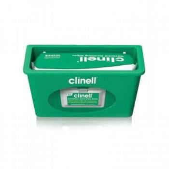Clinell Universal Sanitising Wipes Dispenser