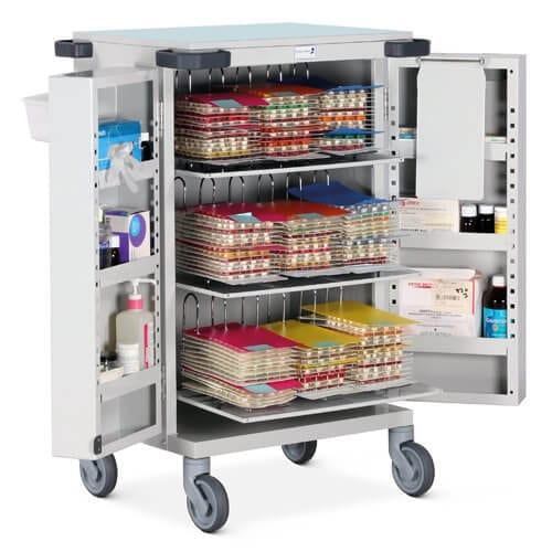 Blister Pack MDS Trolley