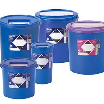 Blue Sharps Disposal Boxes