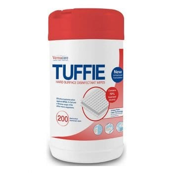 Tuffie Hard Surface Disinfectant Wipes