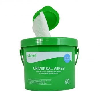 Clinell Universal Wipes (225 wipes)