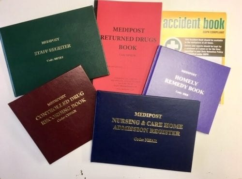 Medipost Recording Book Bundle - Set of 6