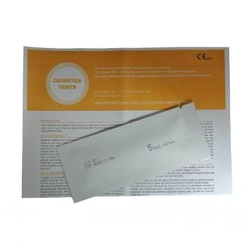 Diabetes Glucose Test Strip