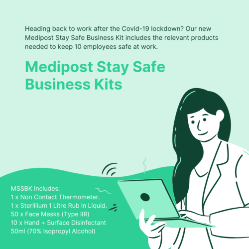 Medipost Stay Safe Business Kits