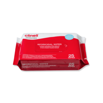 Clinell Sporicidal Dry Wipes