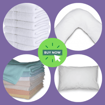 Bedding, Bed Linen and Towels